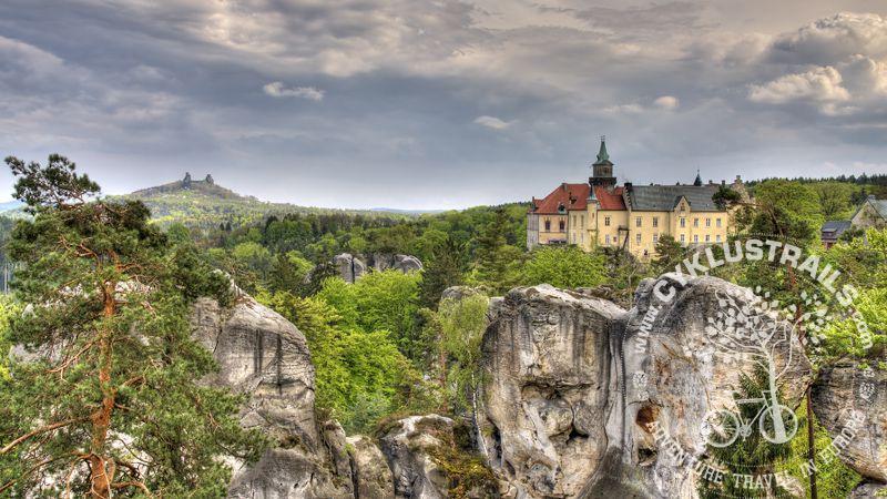 Bohemian Paradise Unesco Geopark Cyklus Trails
